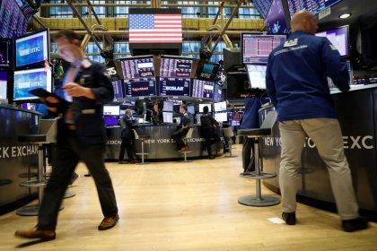 Wall Street slips on trade worries, Hong Kong unrest