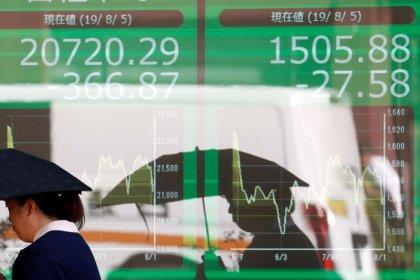 Asian stocks retreat as China's growth slowdown deepens