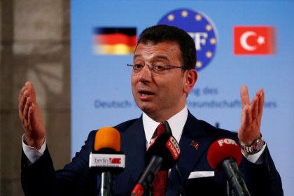 Istanbul mayor seeks to bond with investors on London charm offensive