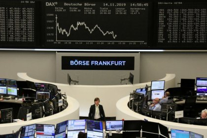 European shares poised for sixth weekly gain, aided by trade optimism