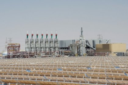 شركة شمس للطاقة تسحب بيانا سابقا عن حريق في حقل شمس 1 في أبوظبي