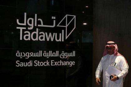 بورصة السعودية ترتفع بدعم من الأسهم المالية، ومصر تهبط بفعل موجة بيع في الأسهم القيادية