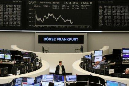 الأسهم الأوروبية تتراجع لليوم الرابع متأثرة بأوجاع التجارة