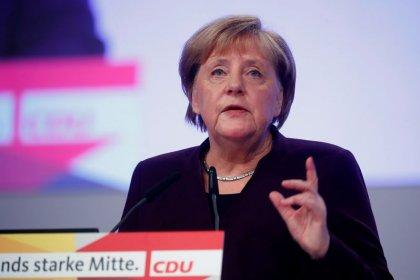 Alemanha não deve excluir nenhuma empresa de redes 5G desde o início, diz Merkel