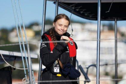 Ativista Greta Thunberg chega a Lisboa a caminho de cúpula do clima em Madri