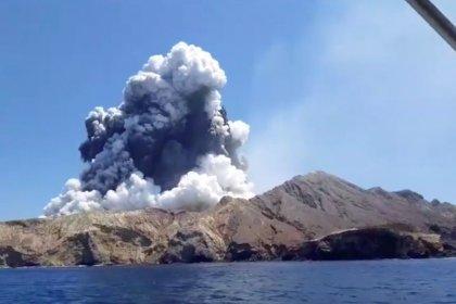 'Sudden' volcano eruption in New Zealand kills five, several missing