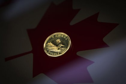 Canadian dollar modestly stronger after Friday's selloff