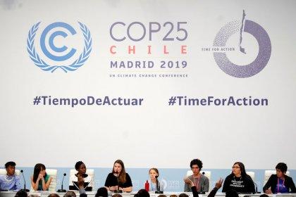 Activist Thunberg turns spotlight on indigenous struggle at climate summit