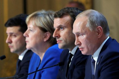 Putin meets Ukraine leader for first time at Paris peace summit