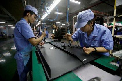 中国鉱工業生産、11月は5カ月ぶり大幅増 小売も予想上振れ