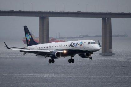Demanda por assentos em voos da Azul cresce mais que a oferta em dezembro