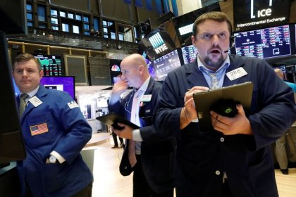 Wall Street notches records on trade optimism, Apple gains