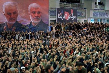 Iran's Khamenei backs military in rare sermon after plane disaster, unrest