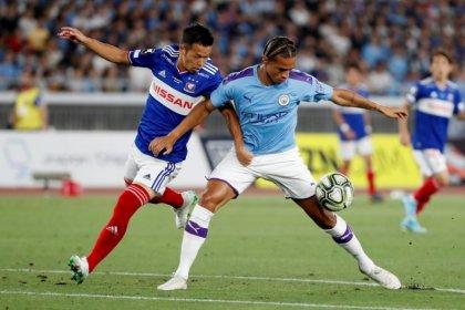 Man City's Sane could resume training next week - Guardiola