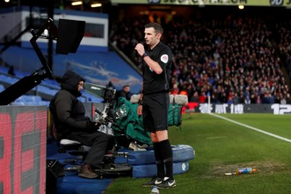 Premier League refs told to use pitchside monitors for red cards