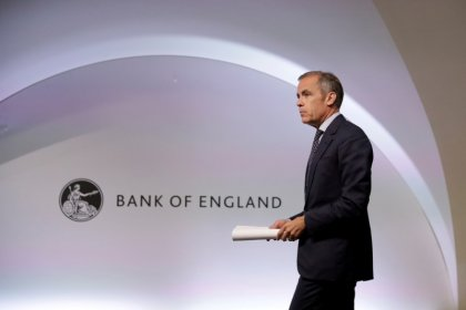 Bank of England rate cut hangs in balance as Carney bows out