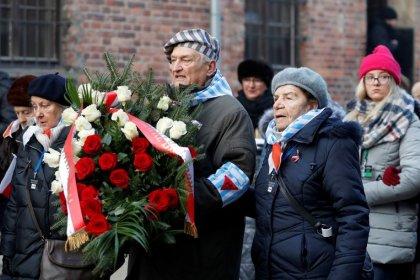 Polonia e Israel condenan el antisemitismo en el aniversario de la liberación de Auschwitz