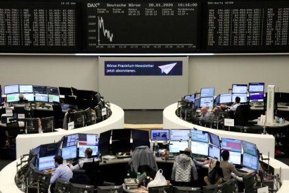 Bank stocks lift European shares
