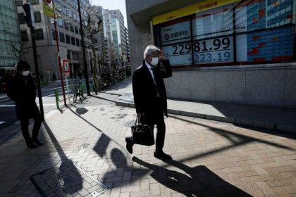 Asian shares rally, slow pace of China factory reopenings a worry