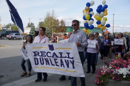 Alaska high court OKs recall petition drive for campaign to oust governor