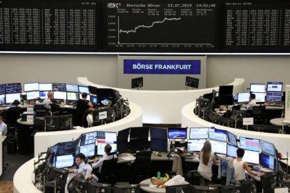 Medidas da China e bancos italianos impulsionam mercados europeus para fechamento recorde