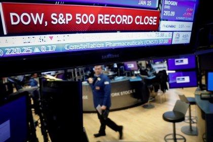Stocks slide on Apple's virus warning, euro near three-year low