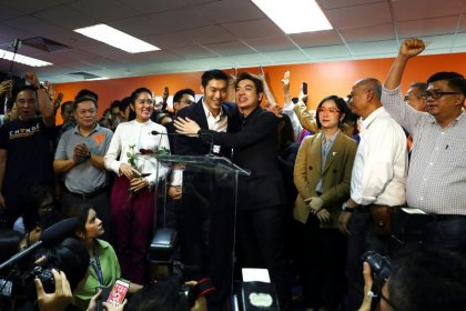 Upstart Thai opposition party faces ban over loan from founder