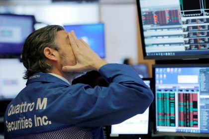 Wall Street tumbles over 3% on virus fears, travel shares tank