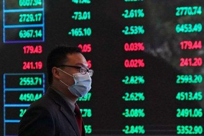 Índices da China têm melhor semana em um ano com expectativas de estímulo