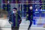 Stocks gain on economic hopes, but Hong Kong risk clouds outlook