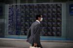 Asia stocks turn cautious on virus surge, geopolitics