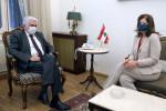 سفيرة أمريكا لدى لبنان: