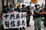 Hong Kong man accused of terrorism in first use of new China security law