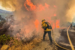Wildfires rage in California as heat wave lingers across U.S. West