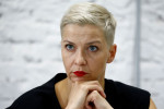 Belarusian protest leader ripped up passport to avoid expulsion, allies say