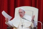 Pope warns against seeking political, economic gain from coronavirus