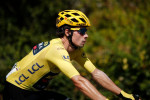 Hirschi soloes to maiden win, Roglic stays in yellow