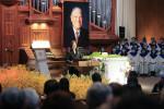 In shadow of China war games, Taiwan bids farewell to 'Mr Democracy'