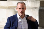 UK's Raab visits Demilitarized Zone that divides the two Koreas