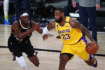 NBA-Lakers' LeBron faces former Heat team in NBA Finals