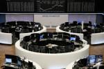 European shares near three-week high on U.S. stimulus hopes