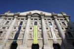 Borsa Milano positiva con WS, corrono risp Buzzi, strappa Interpump, giù banche