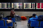 Asian shares recover early losses on Chinese trade data