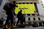 Snap shares jump as user growth, revenue beat estimates