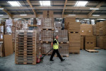 UK manufacturing decline abates in October: CBI survey