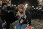 Manifestations en Pologne après la décision restreignant le droit à l'avortement