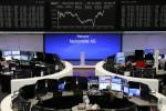 الأسهم الأوروبية تتراجع بعد إبقاء المركزي الأوروبي على السياسة النقدية دون تغيير