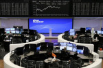 European shares rise as strong China data boosts recovery hopes