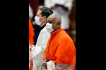 Pope installs new cardinals, including first African-American
