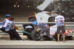 Former sceptic Grosjean praises halo after surviving crash